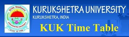 Kurukshetra University Time Table