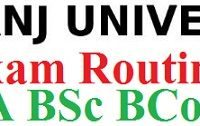 Raiganj University Exam Routine