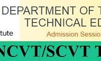 Delhi ITI NCVT/SCVT Time Table