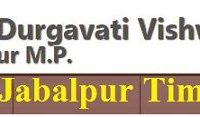 RDVV Jabalpur Time Table