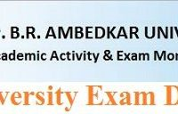 Agra University MSc Date Sheet