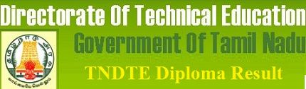 TNDTE Diploma Revaluation Result