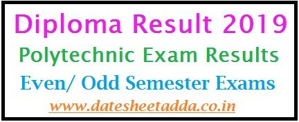 Diploma Result 2019