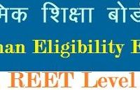 Rajasthan REET Level 2 Syllabus 2019