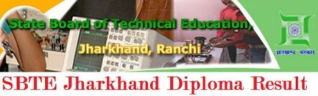 SBTE Jharkhand Diploma Result 2020