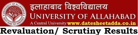 Allahabad University Revaluation Results 2020