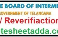 TS Inter Revaluation Form 2019