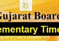 GSEB HSC Supplementary Time Table 2019