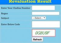 Karnataka 2nd PUC Revaluation Result 2019